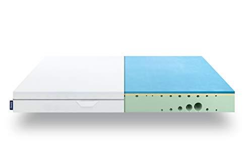 EMMA One Schaum Matratze - 180x200x18 cm, Liegegefühl Medium - ergonomische 7...