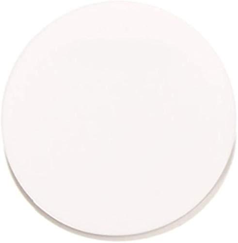 Wzqwzj Acryl Runde Blatt, Weiß Plexiglasplatte, Kunststoffplatte, mit Layer...