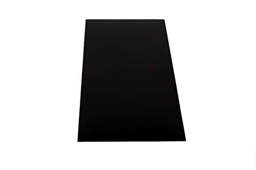 ASA/ABS Platte Kunststoff Platten   GENARBT   SCHWARZ   1000x490mm  TOP...