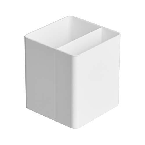 AmazonBasics Kunststoff-Organizer, Stiftebecher, Weiß