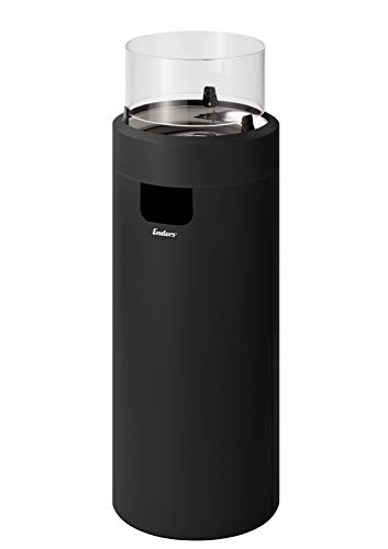 Enders Nova LED Gasfeuerstelle, schwarz/Chrom
