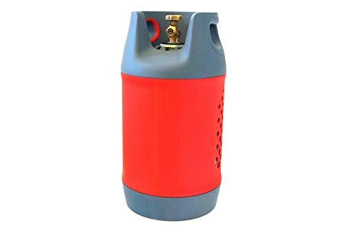 Drehmeister Komposit Gasflasche 24,5 Liter mit 80% Füllstop OPD