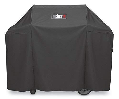 Weber 7134 Abdeckhaube Premium für Genesis 300 Serie, schwarz, 113 x 147.3 x...
