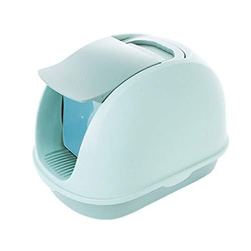 HHORD Katze Flip Wurf Tablett, Haustier Katze Wurf Tablett Toilettenbox, Mehrere...