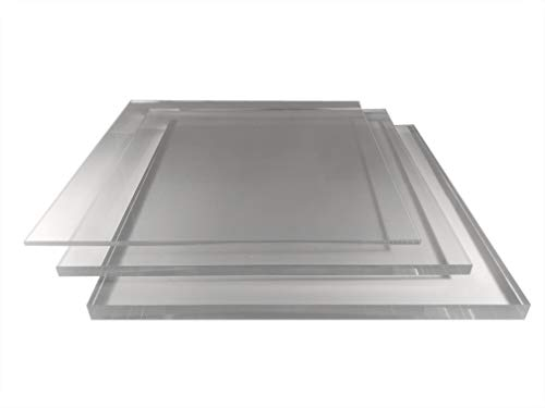 2-15mm PLEXIGLAS® Acrylglas Zuschnitt Kanten POLIERT millimetergenauer...