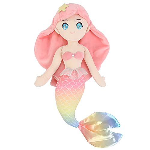Leyue Mermaid Princess Weiche Puppe Plüschtier-Spielzeug-Geburtstag...