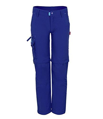 Trollkids Quick-Dry Zip-Off Hose Oppland Slim Fit, Königsblau, Größe 122