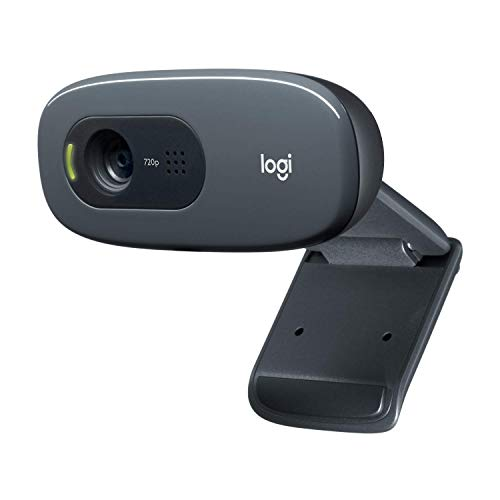 Logitech C270 Webcam, HD 720p, 60° Sichtfeld, Fester Fokus,...
