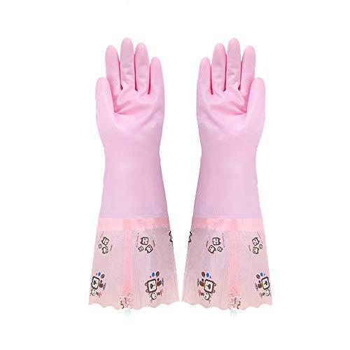 H-OUO Reinigung Handschuhe, Durable Abwasch Handschuhe, Lang-Hülse...