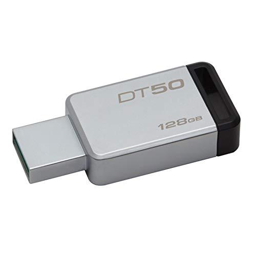 Kingston 128GB DataTraveler50 USB 3,0 Flash Speicherung Pferch Festplatte DT50...