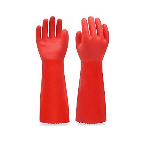 H-OUO Reinigung Handschuhe, Plus Velvet warmer starke Wasserdichtes haltbares...