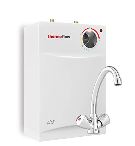 Thermoflow THERMOFLOWSETU UT 5 N Untertischspeicher Set 5 Liter mit Armatur...