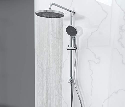 SCHÜTTE SAMOA RAIN Regendusche mit Wandhalterung (ohne Armatur), Duschsystem...