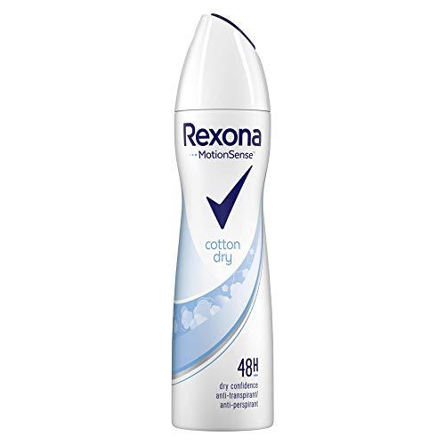 Rexona Anti-Transpirant Spray für langanhaltende Frische Cotton Dry...