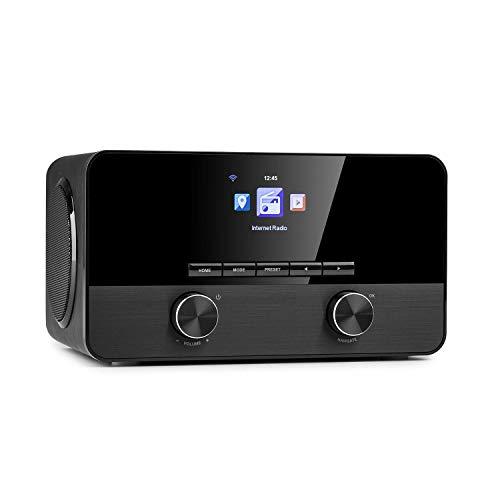 auna Connect 100 SE - Internetradio, Mediaplayer, Bluetooth, WLAN:...