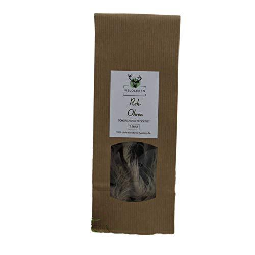 Wildleben REH-Ohren,natürlicher Kausnack für Hunde, schonend gedörrt,...
