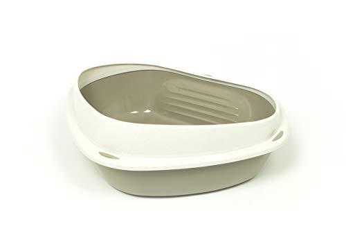 CapitanCasa Toilette für Katzen, rechteckig, 58 x 48 x 20,5 cm, Modell 700090...