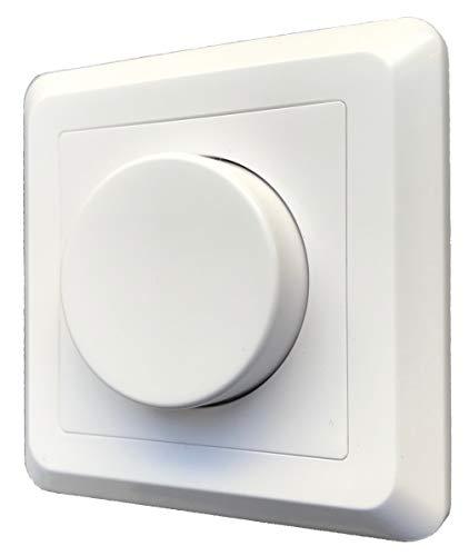 greenandco® gc-200 Unterputz LED und Halogen Dimmer 1-200 Watt, auch für...