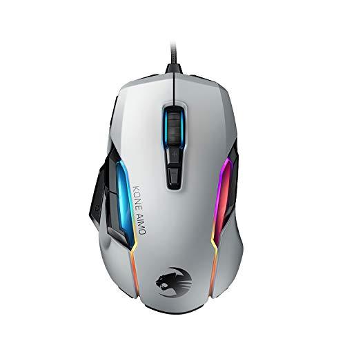 Roccat Kone AIMO Gaming Maus (hohe Präzision, Optischer Owl-Eye Sensor (100 bis...