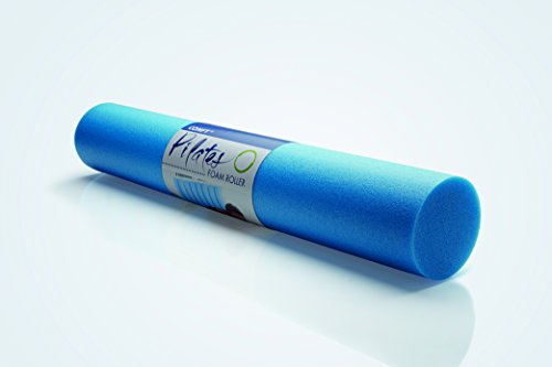 NMC Pilatesrolle Blau 90x15cm Pilates Yogarolle Gymnastik Fitness Foam Rolle...