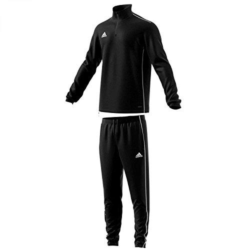 adidas Herren Trainingsanzug Core 18 Black/White XXL