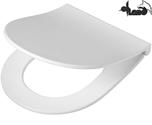 WC Sitz FORMAT passend für Keramag Icon / 4 U, Renova Nr. 1 extra flach...