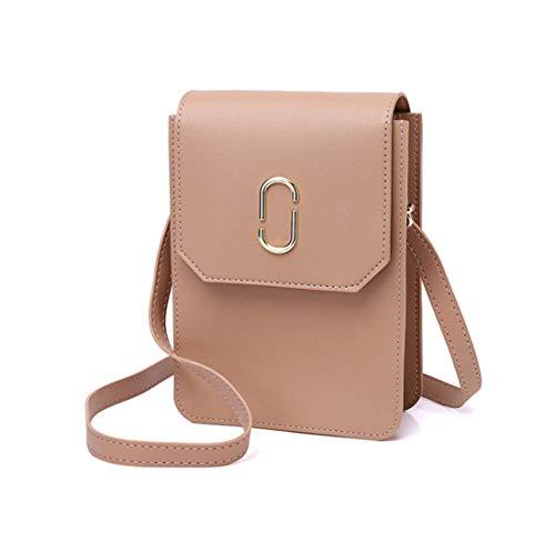 QianYang Handy Schultertasche, Damen Umhängetasche Mini-Tasche Handytasche...