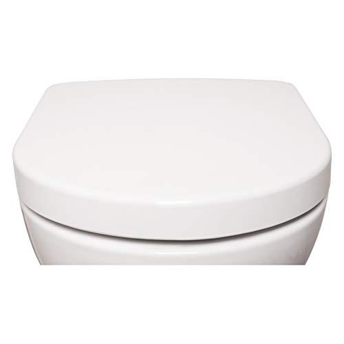 Bullseat 4.1 WC Sitz weiß D-Form • Absenkautomatik/Softclose • abnehmbar...
