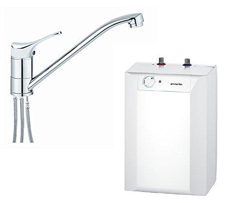 respekta Gorenje Boiler Warmwasserspeicher Untertisch 10 Liter mit Armatur EKW...