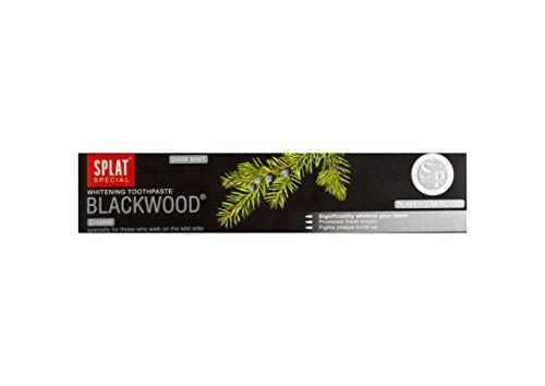 Splat Blackwood Whitening Zahnpasta - entfernt Plaque und verhindert ihre...
