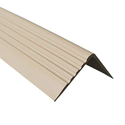 Treppenkantenprofil Selbstklebend PVC Kunststoff Antirutsch-Profil Winkelprofil...