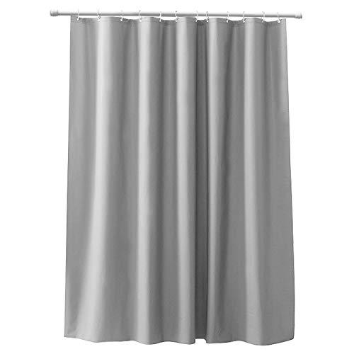 CLOFY Duschvorhänge, Duschvorhang aus Polyester, 200 x 200 cm, Anti-Schimmel,...