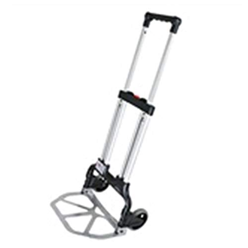 YJXTYP Trolley Trolley Home Folding Tragbare Mute Trolley Auto Warenkorb...