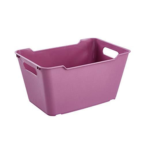 keeeper Aufbewahrungsbox, strukturierte Oberfläche, 6 Liter, Lotta, Berry