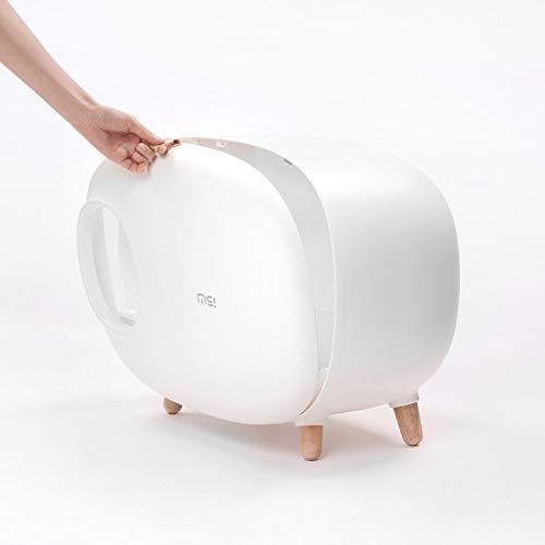 Katzentoilette Leicht Zu Reinigen Big Raum Splash Proof Halb Geschlossen Pet WC