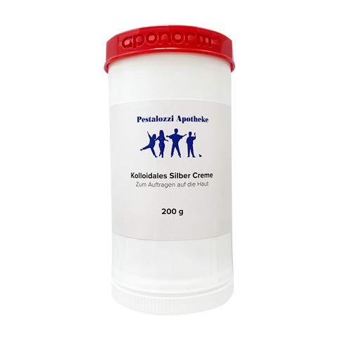 Kolloidales Silber Creme (200 g) aus Apotheken-Herstellung - hochwertige...