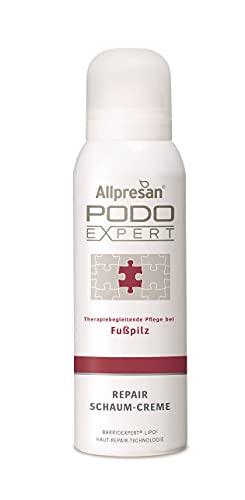 Allpresan Podo Expert Repair Schaum Creme Fusscreme bei Fußpilz, Nagelpilz,...