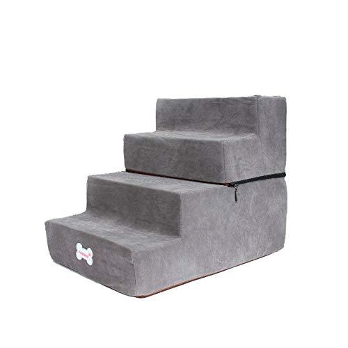 Große Haustiertreppe Hunde Treppen Stufen 4-Dog Step Assembly Staircase...