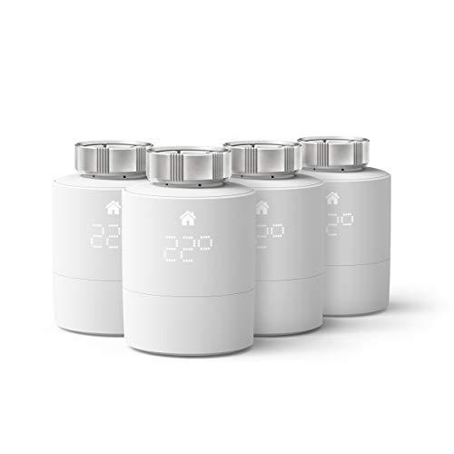 tado° Smartes Heizkörper-Thermostat - Quattro Pack, Zusatzprodukte für...