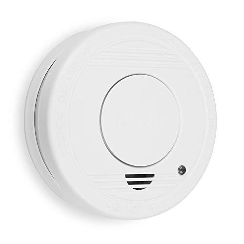 Smartwares TÜV geprüfter Rauchmelder/Feuermelder, DIN EN 14604 zertifiziert,...