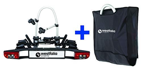 Westfalia BC 60 (Modell 2018) Fahrradträger für die Anhängerkupplung inkl....