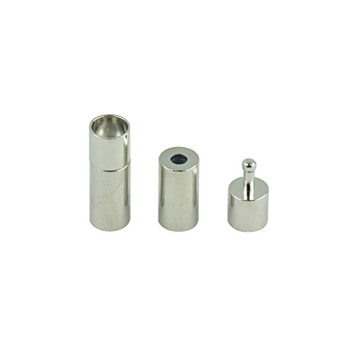 10 STK. Magnetisch Verschluss Kettenverschluss für DIY Schmuck Herstellen -...