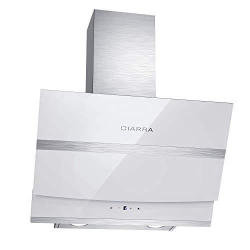 CIARRA CBCW6736N Dunstabzugshaube 60cm 3 Stufen Abluft Umluft Max Abluftleistung...