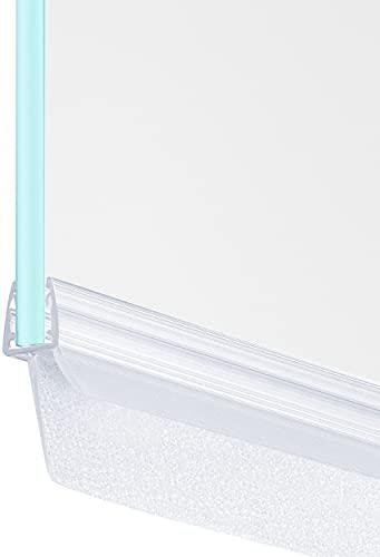 MAALIMA - Duschdichtung 100cm - extra lange Dichtlippe 23mm - Dichtung für 6mm,...