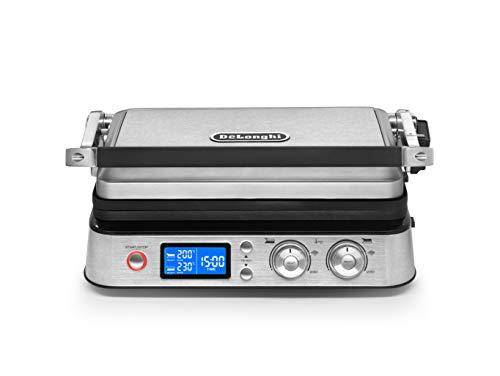 De'Longhi MultiGrill CGH1030D, Elektro-Grill mit 7 Kochfunktionen, elektrischer...