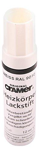 Cramer 66151 5, Heizkörper Lackstift   9010   Weiß