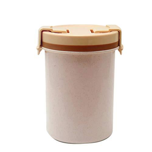UPKOCH 600Ml Plastik Suppenbecher Deli Lebensmittel Vorratsbehälter...