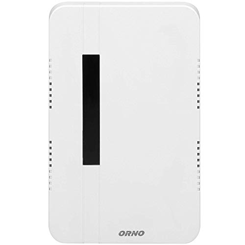 ORNO Brevis Maxi Türklingel Kabelgebunden Mechanischer Gong 80dB Weiß 230VAC