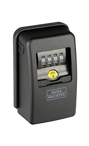BURG-WÄCHTER Schlüsseltresor mit 4-stelligem Zahlencode für außen und innen,...