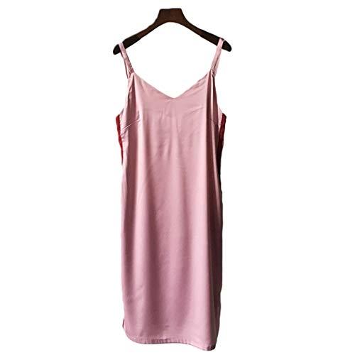 AXIANQIPJS Ladies100% Seide Anzug Schlafanzüge Pyjamas Sexy Sling-gesetzte...